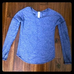 Ivivva violet long sleeve top size 10